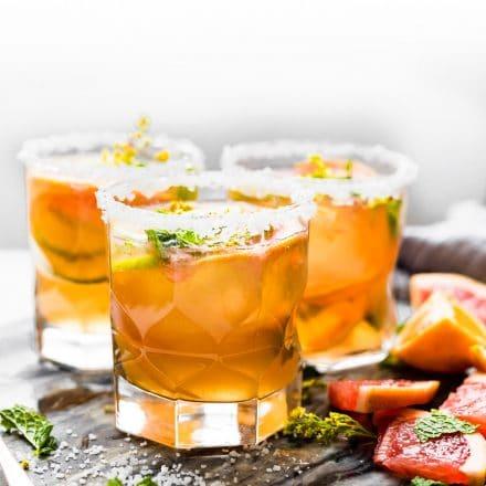 kombucha mezcal cocktails