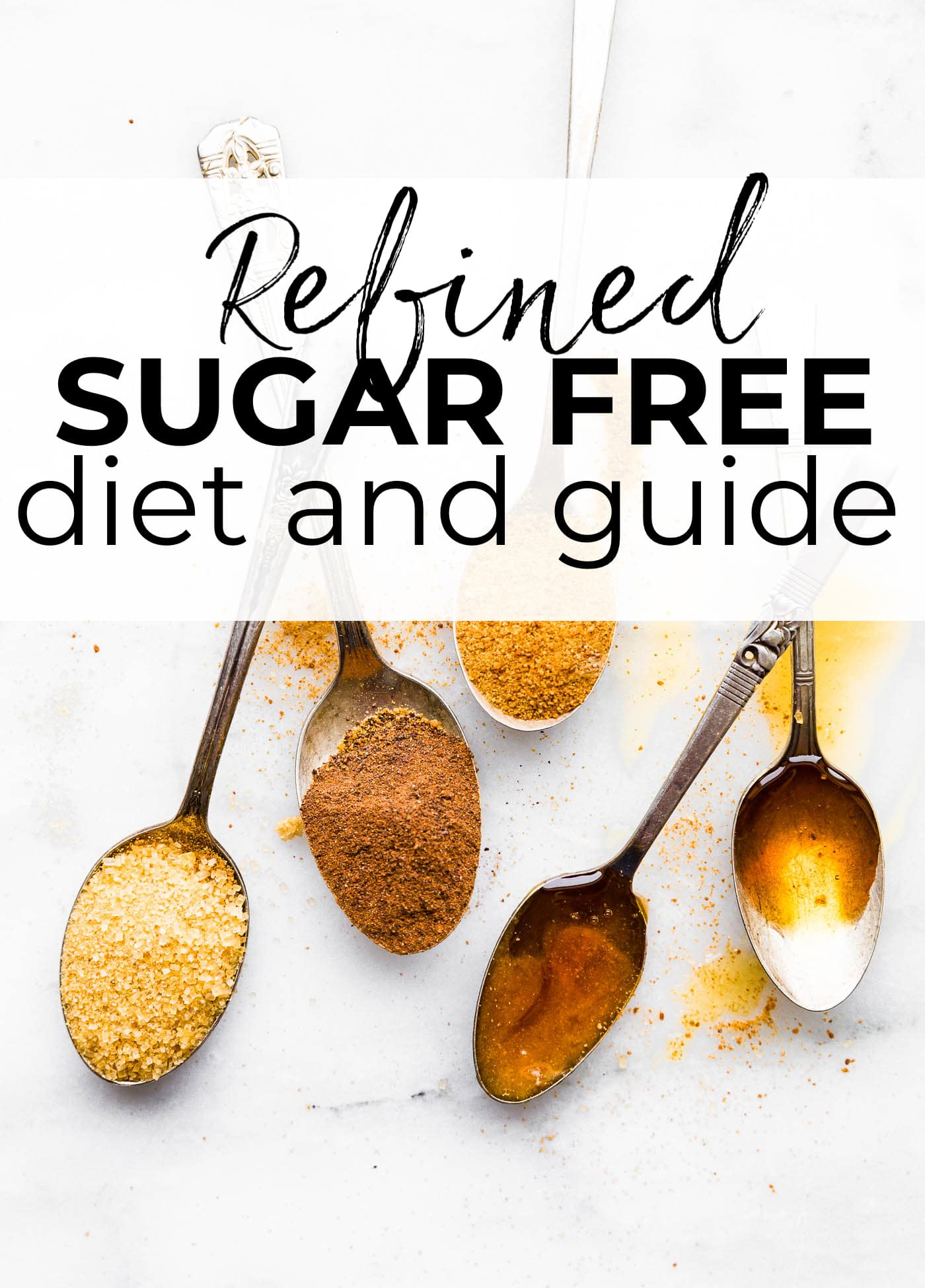 5 different forms of natural sweeteners for a refined sugar free diet