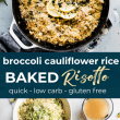 risotto - riced cauliflower (pin)