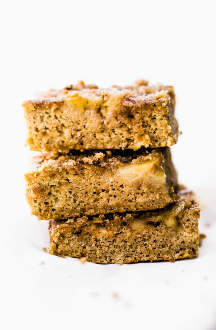 Flourless Banana Bread Bars (Dairy Free Option)