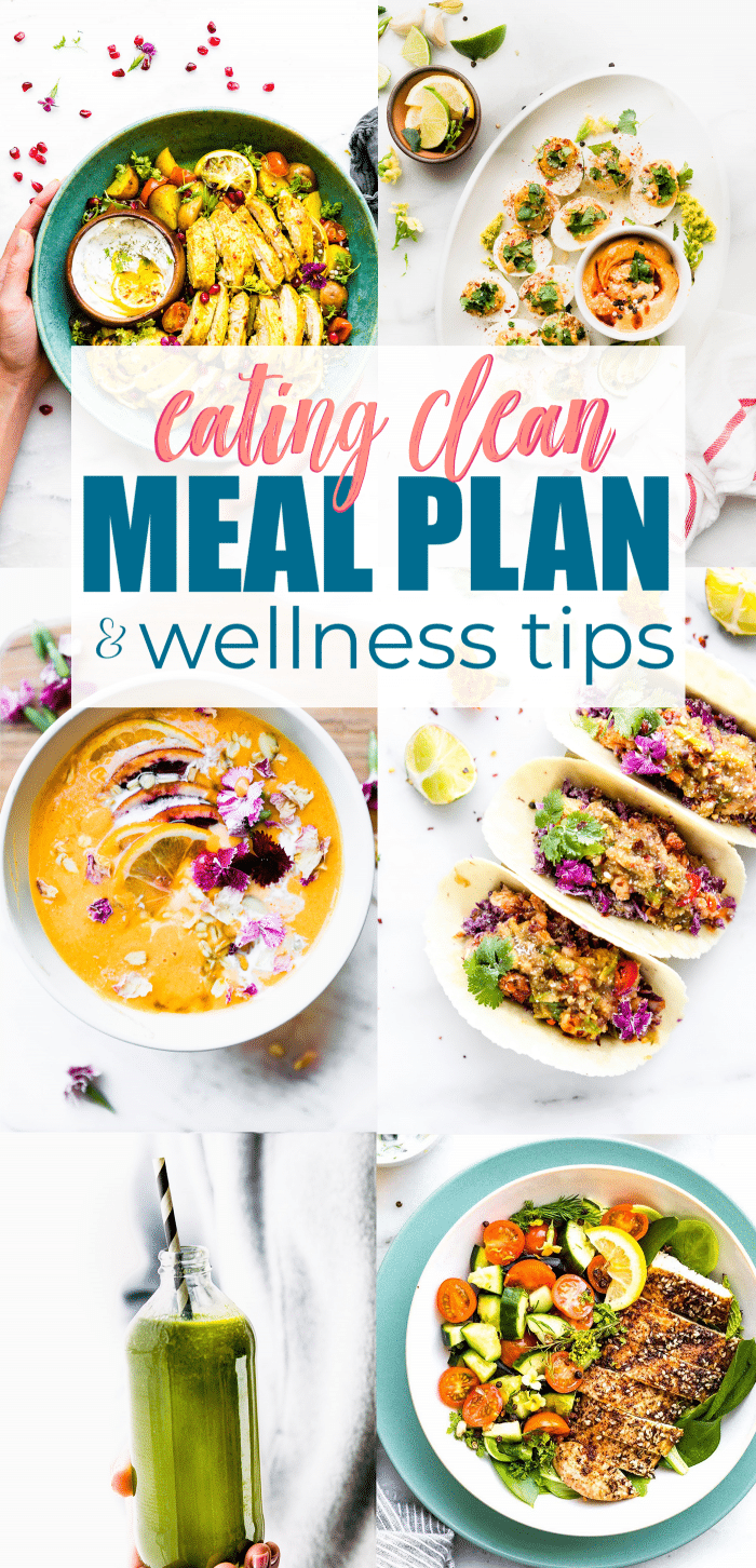 clean eating pin meal plan