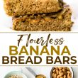 banana bars pin and ingredients