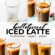 iced coffee bulletproof pin