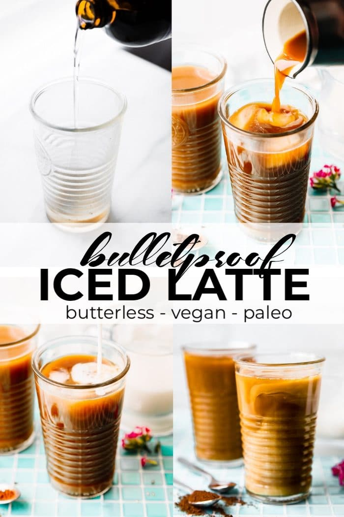 iced coffee bulletproof pin