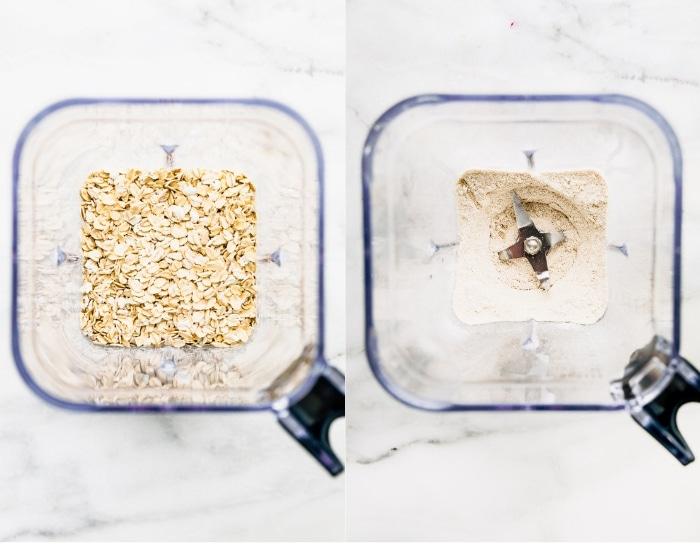 oats in food processor