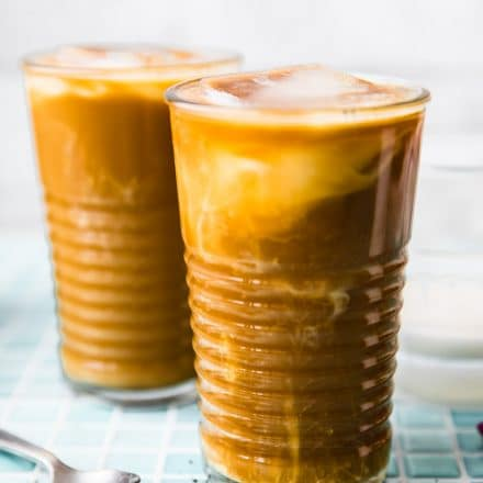 egan bulletproof iced coffee latte