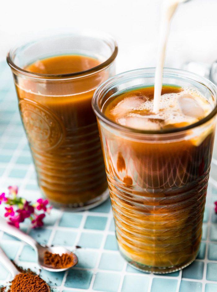 iced coffee latte bulletproof