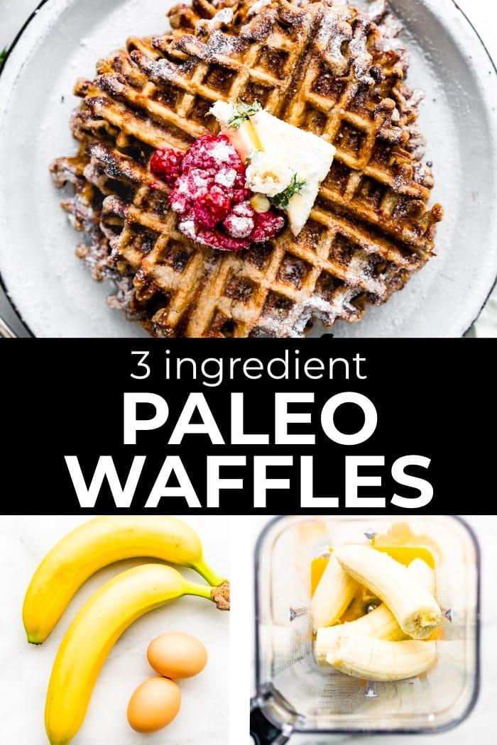 paleo waffles graphic