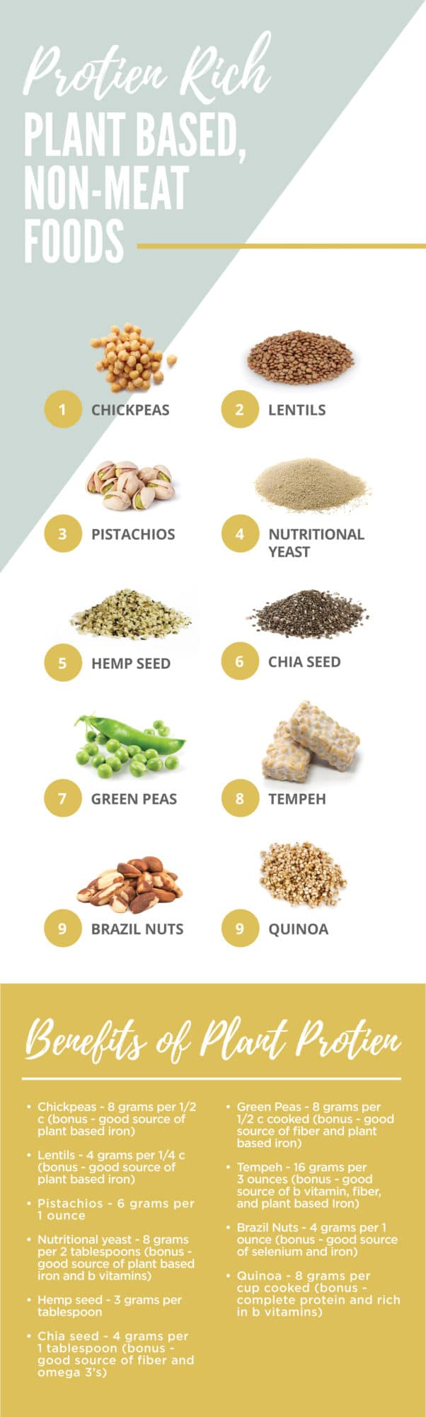 plant based foods rich in protein! #health #vegan #nutrition #protein