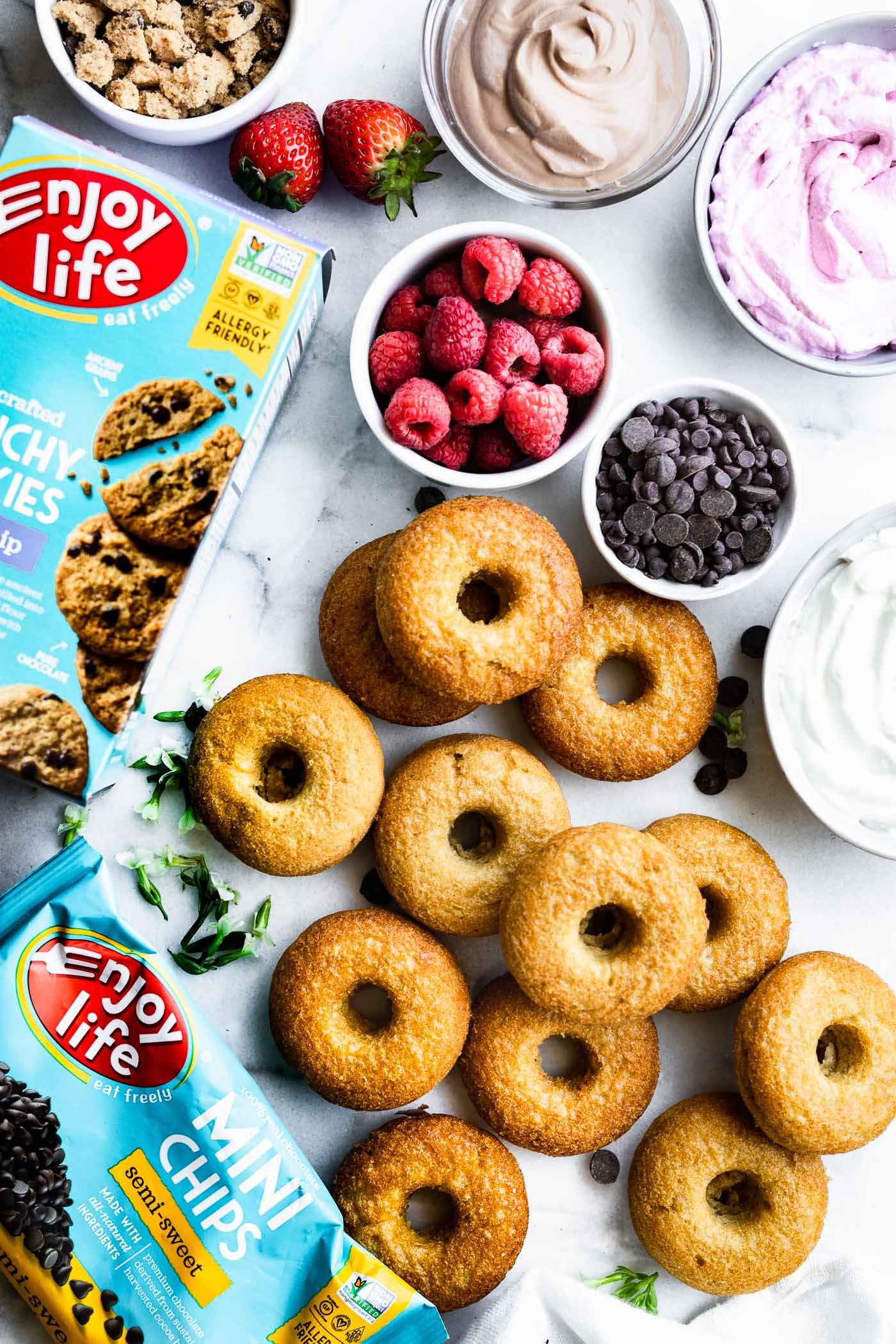 enjoy life foods chocolates and donuts
