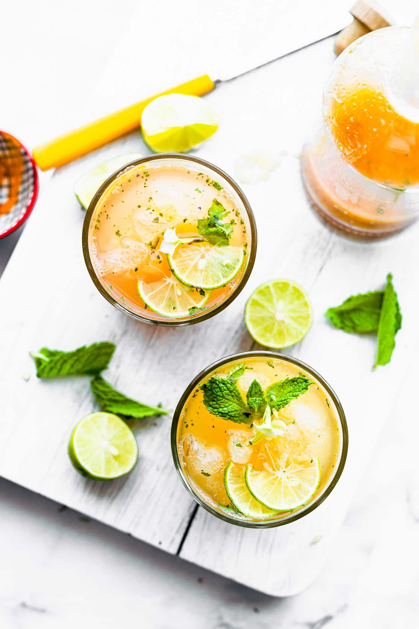 Drinking Apple Cider Vinegar in a Detox Morning Cocktail