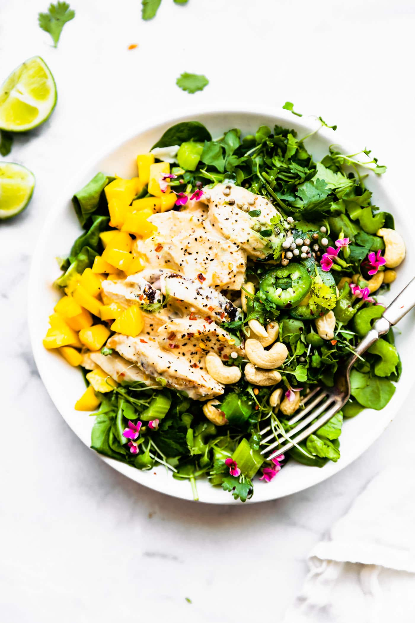 Curry Chicken Salad - Paleo, meal prep friendly!