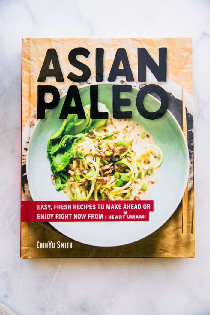 Asian Paleo cookbook cover
