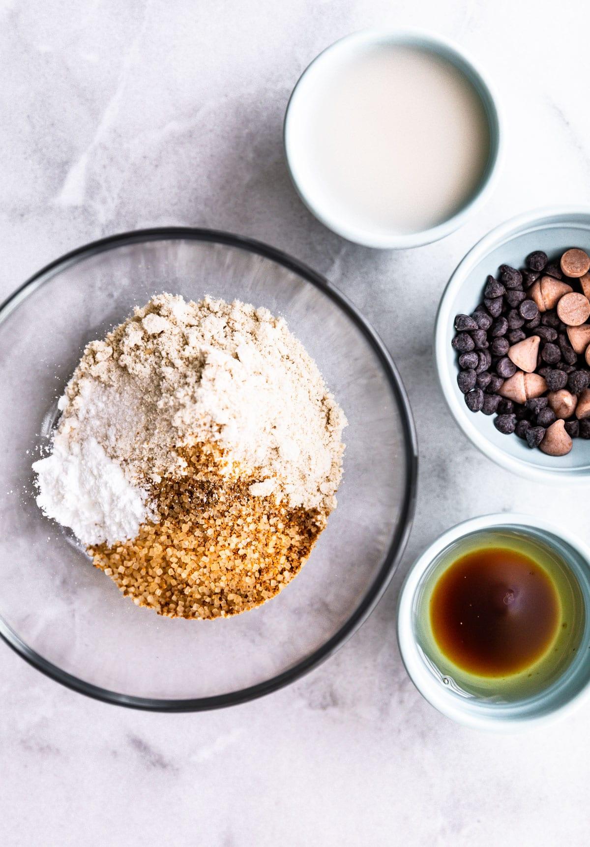 Vegan Chocolate & Vanilla Mug Cake Recipe! | Cotter Crunch