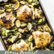 pin for sheet pan chicken and veggies