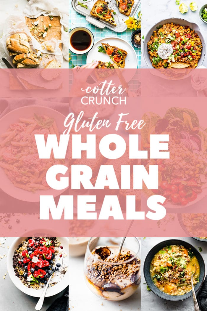 Whole Grain Meal Plan graphic