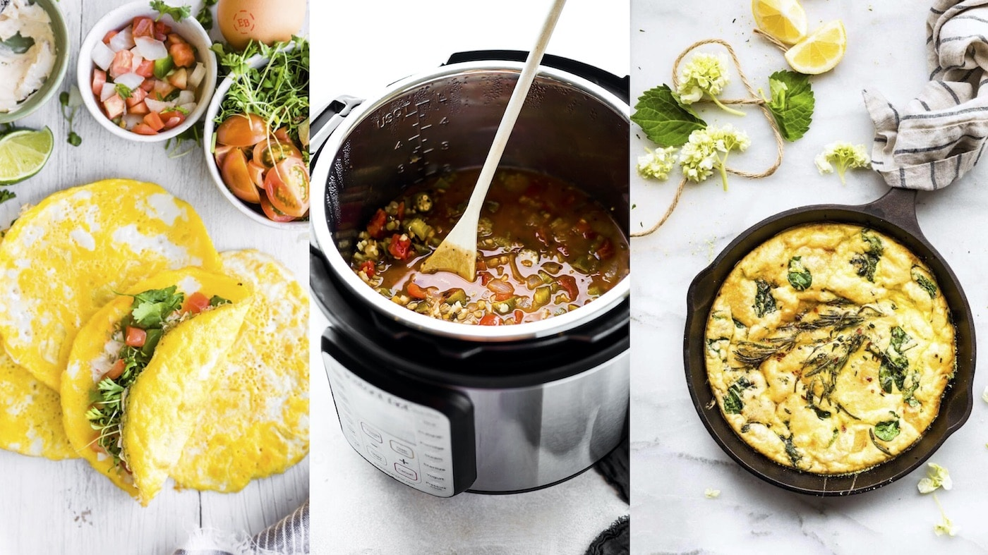 eggs and soup in instant pot
