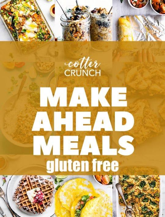 MAKE AHEAD Meal Plan