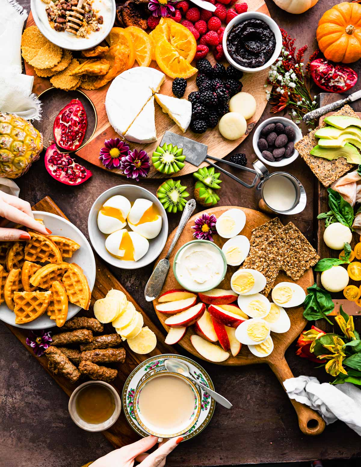 4 Healthy Charcuterie Board Ideas For Brunch Cotter Crunch