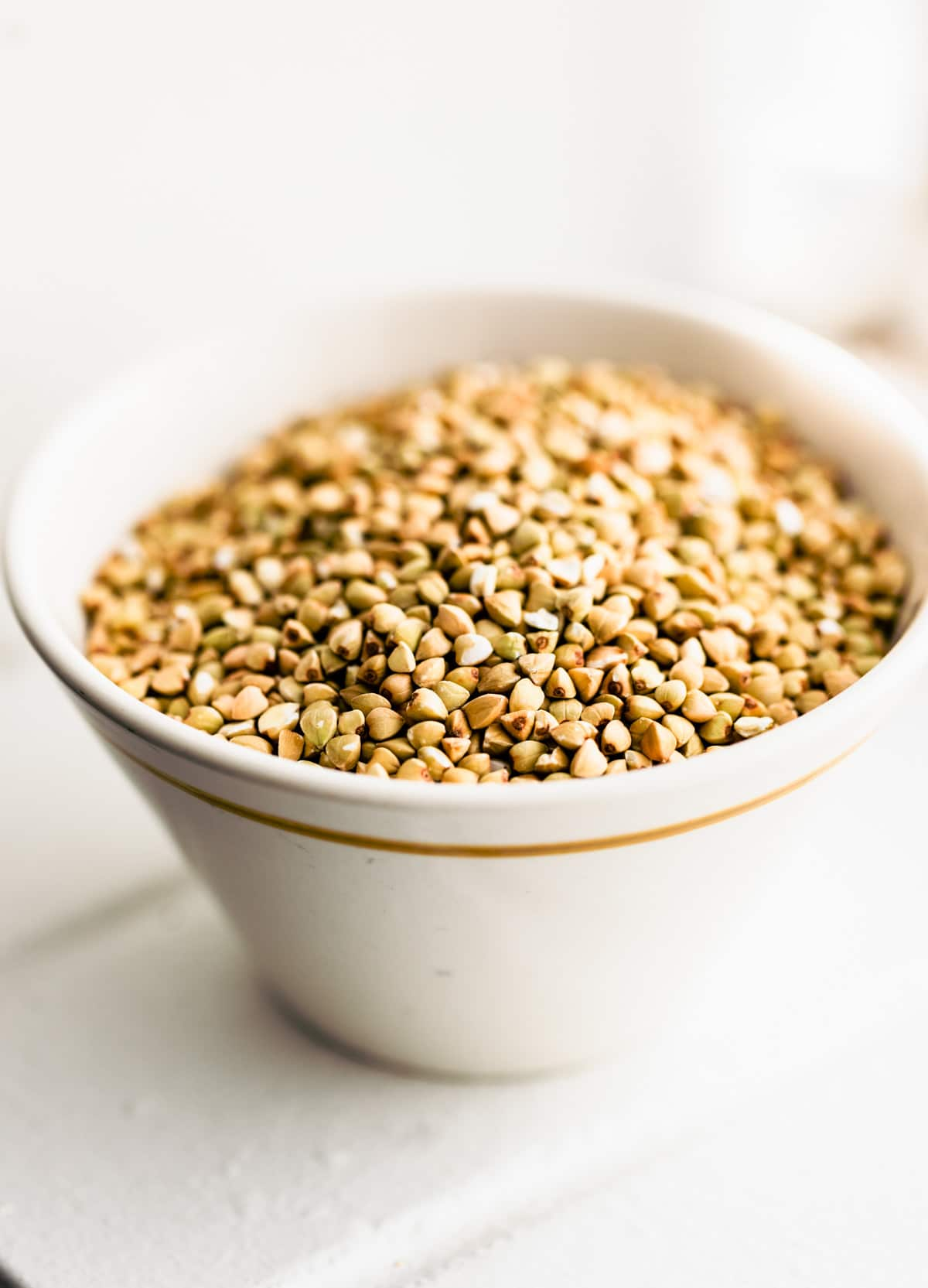 buckwheat groats in bowl