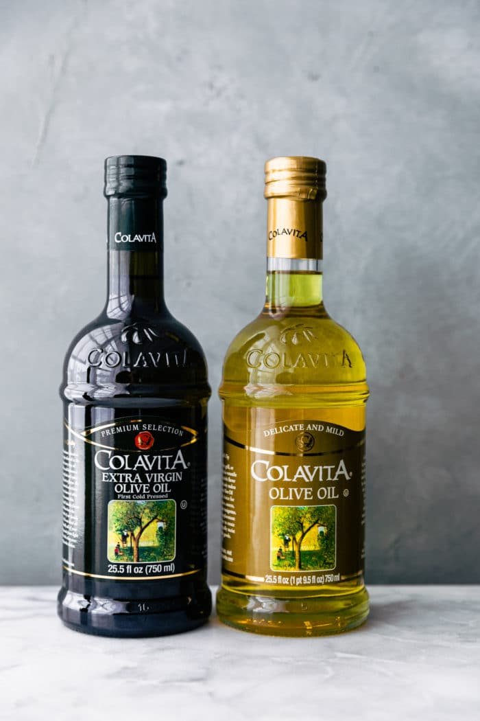 2 bottles of Colavita olive oil