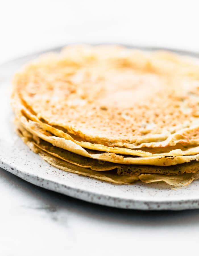 stack of Swedish pancakes