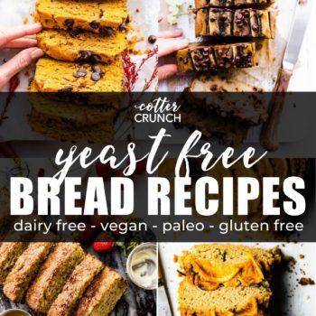 Yeast free bread recipes