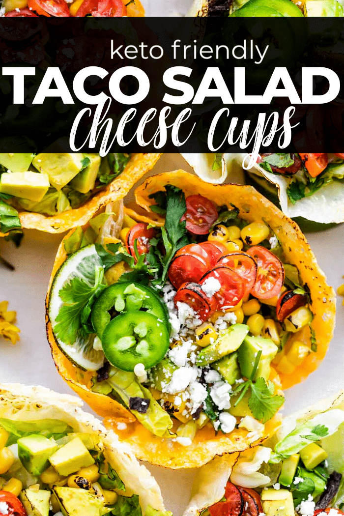 graphic for taco salad cheese cups