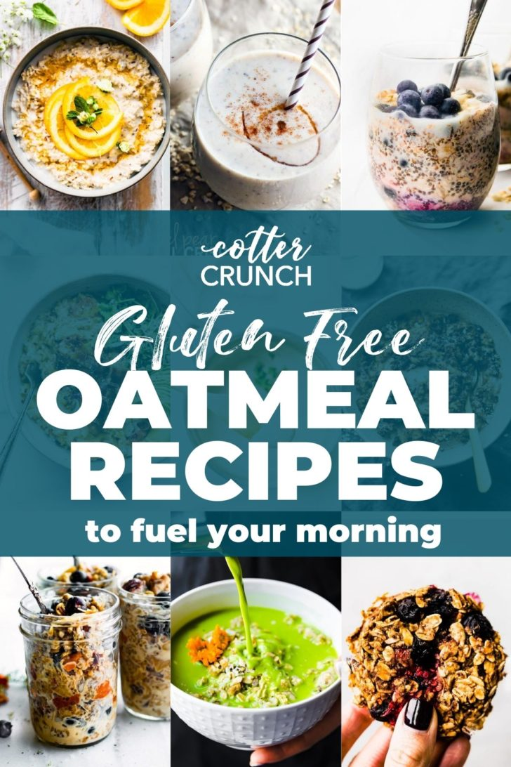 Oatmeal Recipes collage