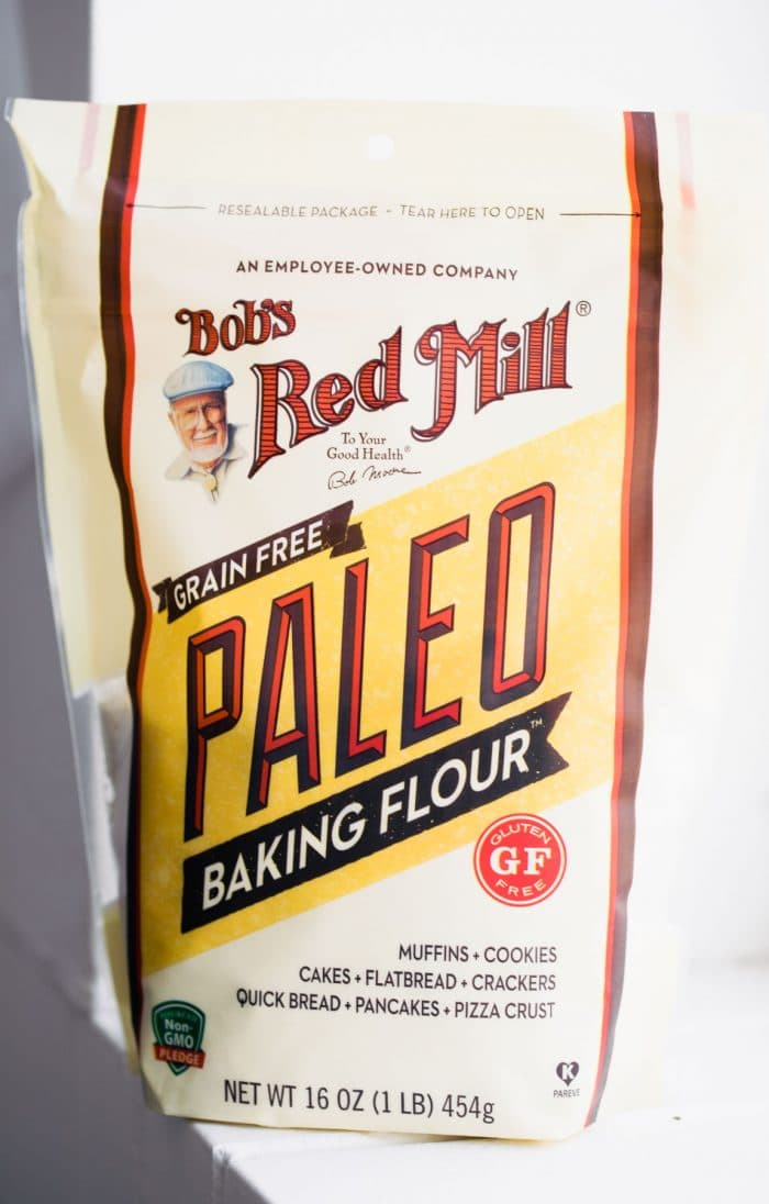 package of Bob's Red Mill brand paleo baking flour
