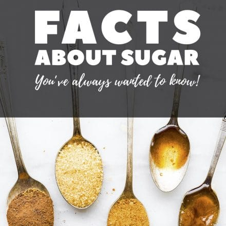 titled Pinterest image: Facts About Sugar You've Always Wanted to Know