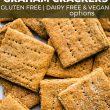 Pinterest image of graham crackers