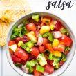 Pineapple Watermelon Salsa Pin