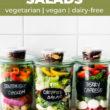 Mason Jar Salad Recipe Pinterest Image