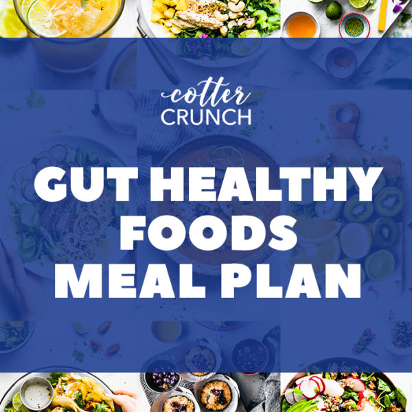 Gut Healthy Meal Plan Pin