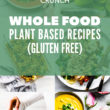 whole food meal plan & grocery list pinterest image