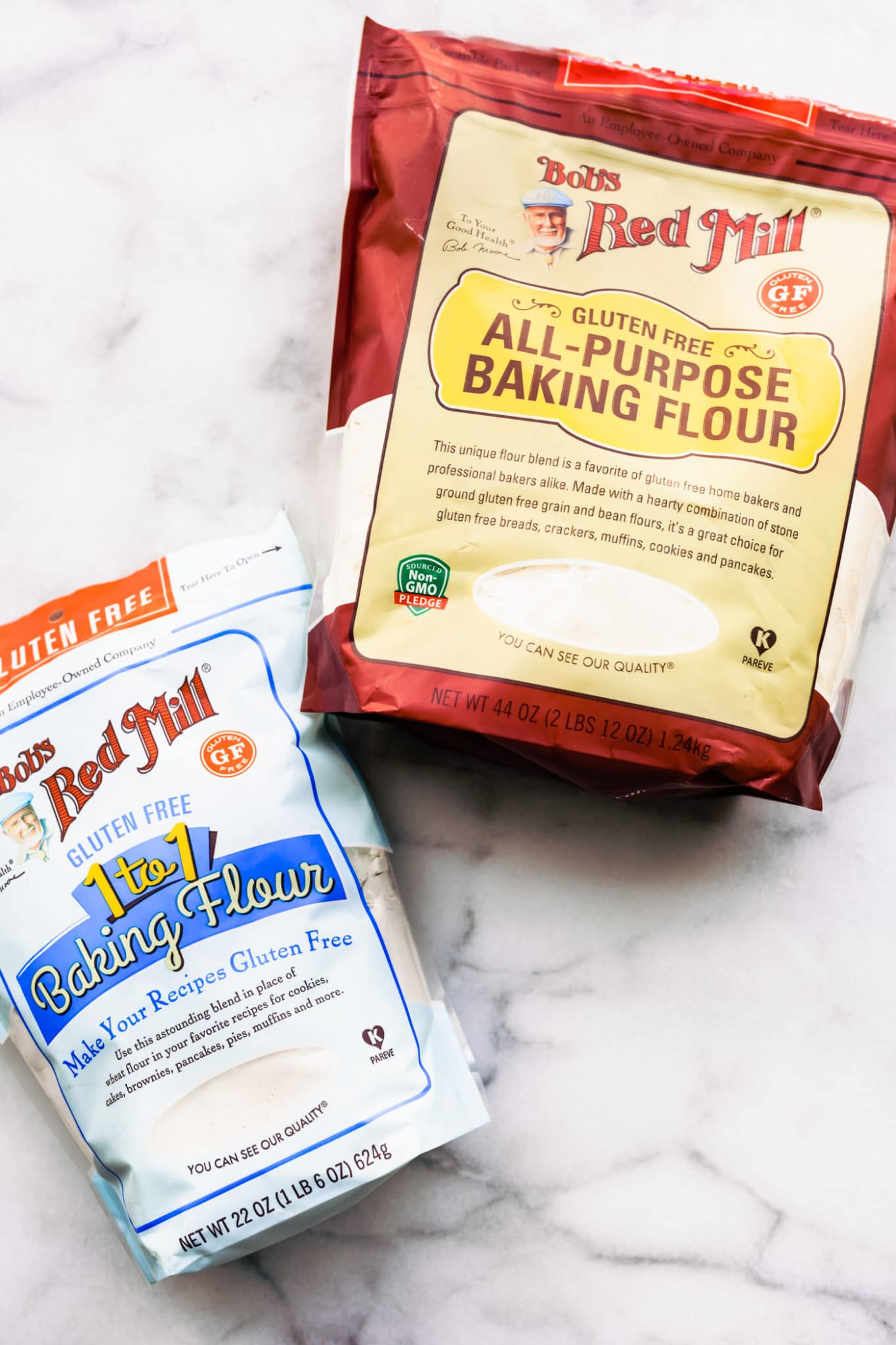 Bob's Red Mill 1:1 Gluten Free Baking Flour and All-Purpose Gluten Free Baking Flour