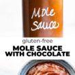 Sweet Potato Turkey Chili with Mole Sauce Pinteerest Image